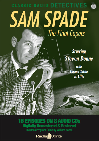 Image result for radio series the adventures of sam spade