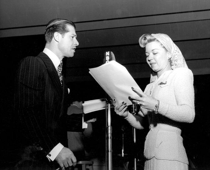 The Bickersons (Radio) 1946-1951Shown from left: Don Ameche, Frances Langford