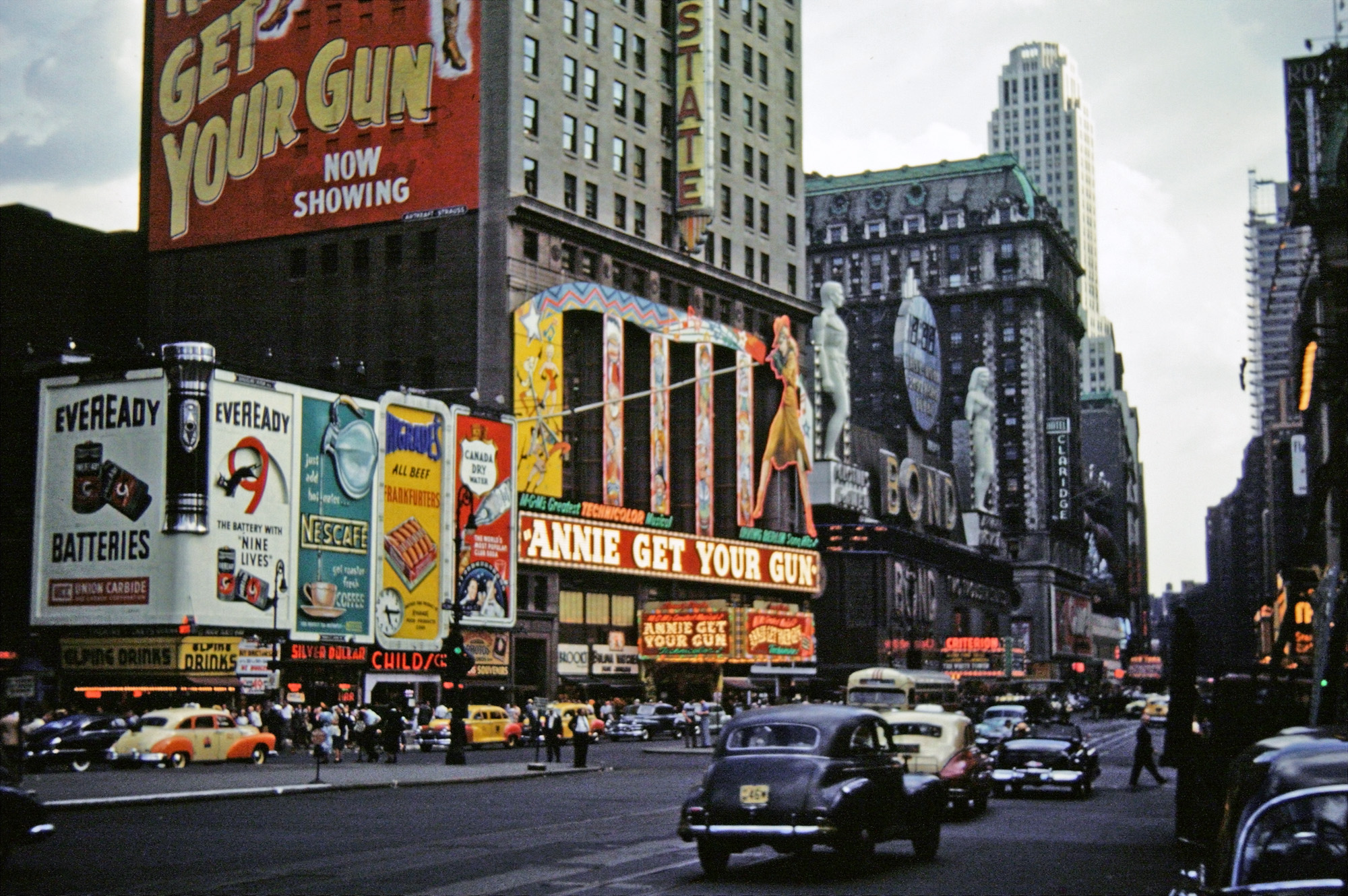Radio spirits blog archive from times square to for The broadway